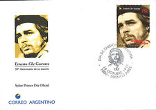 "CHE97 : ARGENTINA FDC First Day ""30th anniversary of CHE GUEVARA"" 18-10-1997"