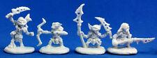 4 x GOBELIN GUERRIER - BONES REAPER figurine miniature pathfinder goblin 89003