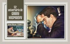 GUINEA-BISSAU 2018 chess Garry Kasparov s/s  S201804