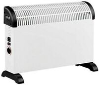 2KW Free Standing Convector Heater 3 Adjustable Heat Settings Electric Radiator
