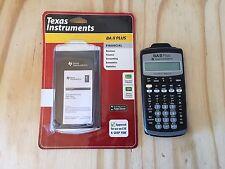 Texas Instruments  BA II  Plus Financial Calculator  OPEN BOX TESTED