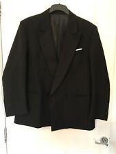 Gents Black Dinner Suit Size 40 Short Trousers 34 Short