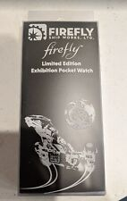 Firefly Serenity Ship Limited Edition Exhibition Pocket Watch Loot Cargo Crate