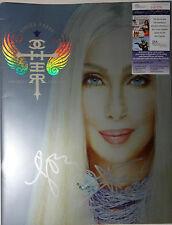SIGNED CHER AUTOGRAPHED 2002 FAREWELL TOUR BOOK PROGRAM CERTIFIED JSA # P87376