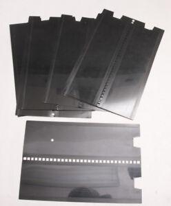 (14) Film Leader Cards Afga MSC Photo Lab Notched 9X5LQ CL+F33-A7716 USED G19D
