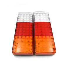 75 LED Car Truck Trailer Tail Lights Turn Signal Reverse Brake Rear Stop Lamp X2