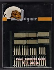 JAGUAR MODELS 63506 - 75mm (PANTHER) AMMO WITH CRATES - 1/35 RESIN KIT
