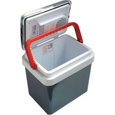 Electric Portable 12 Volt Beverage Cooler, 32 Can Thermoelectric Car Boat Fridge