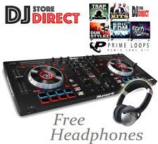 NUMARK MIXTRACK PLATINUM 4 Deck USB MIDI Serato DJ Controller + FREE HEADPHONES