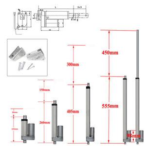 "Electric Linear Actuator Lift Motor Stroke 2""-18"" Auto Marine Robotics 3A 12V"