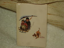 Norman Rockwell Winter Themed Playing Cards From 1990'S Send Away Offer: New.
