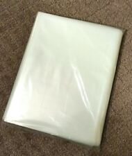 100 Clear Poly Storage Bags for CGC, PGX and CBCS Graded Comic Books 2 mil New!