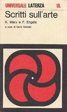 MARX Karl, ENGELS Friedrich - Scritti sull'arte