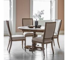 Frank Hudson Living Mustique Round Extending Dining Table