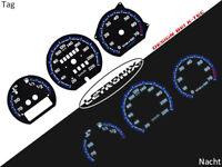 LETRONIX Plasma Tacho Tachoscheiben EL-Dash VW Corrado Passat 35i 20-220 km/h #