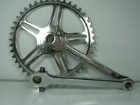 Vintage - Thun Cottered Single Chainset 44 Teeth 170 mm  Crankarms, Raleigh