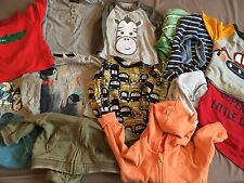 Bebé Niño 6-9 meses 14 artículo paquete siguiente H&M Mothercare Camiseta Sudadera Con Capucha
