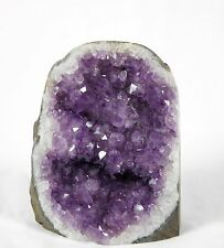 AM42) Amethyst Geode Crystal Quartz Brazil Free Standing Great Gift 2 KG