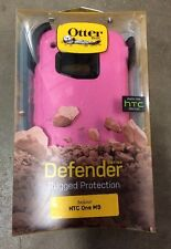 New Otterbox Defender Series Case For HTC One M9 Melonpop Pink 77-51131 Genuine