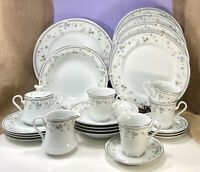 Vintage Mikasa Limousin Fine China L9046 Dinnerware Service for 4 (Lot of 24)