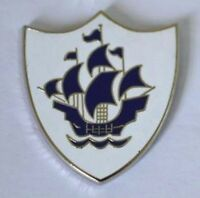 Blue Peter style enamel pin badge. Childrens TV, Fancy Dress, 70's, 80's