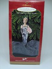Barbie Collectible Hallmark Ornament. 40Th Anniversary! 1999 Awesome!