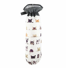 Save Bag Cats Plastic Sack Holder Tabby Siamese Peeping Felines Tiger Stripes