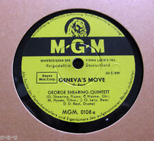 Nice Price: George Shearing Quintett - Geneva's Move / As Long As There's Music