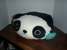 """Squishmallow  12"""" Stanley The Panda Stackable  Plush Soft Pillows New Tags"""