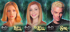 BUFFY SEASON 6 SET OF 3 PROMO CARDS VU1, VU2, VU3