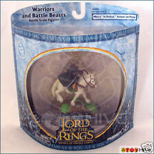 LOTR AOME Warrior Beasts - Merry in Rohan Armor on Pony