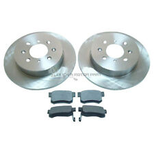 ROVER MG ZR ZS 2001-2005 REAR 2 x 260MM BRAKE DISCS AND PADS SET NEW