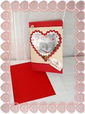 Très Jolie Carte Postale + Enveloppe St Valentin Me to you Je T'aime