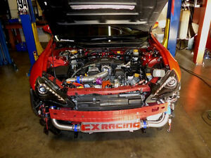 CXRacing Turbo Kit + Intercooler Manifold For Scion FR-S Subaru BRZ FA20 NA-T