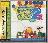 Sega Saturn Puzzle Bobble 2X Japan SS
