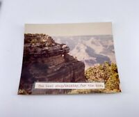 Vintage Snapshot Photograph - Grand Canyon #2 - 1981 - Original
