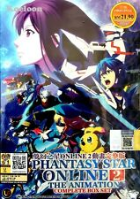 DVD Japan Anime PHANTASY STAR ONLINE 2 The Animation Series (1-12) English Sub