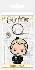 Harry Potter - Draco Malfoy - Gummi Schlüsselanhänger Keyring - ca. 4,5x6 cm
