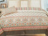 "BED SHEET DOUBLE SIZE, PRINTED TYPE, COTTON - 100 % (94"" * 102""), BRAND NEW"