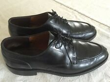 ALLEN EDMONDS Mens 9.5 D Bradley Black Leather Dress Shoes Split Toe Oxford