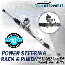 For Jetta Power Steering Rack & Pinion Complete VW Golf Beetle VOLKSWAGEN 99-07