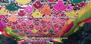 Indiano Handmade Ventaglio Pankhi Decorazione Tradizionale Matrimonio Tema