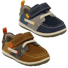 Chaussures décontractées en cuir pour garçon de 2 à 16 ans