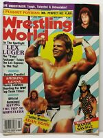 Wrestling World Magazine Back Issue January 1994 Mr. Perfect Ric Flair Poster