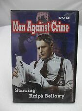 DVD - Man Against Crime - Ralph Bellamy - 3 Episodes