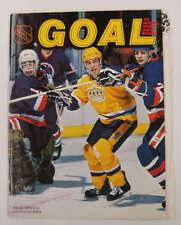 Goal NHL Magazine Washington Capitals vs LA Kings Hockey Program J64821