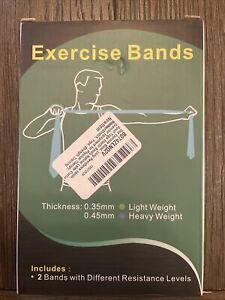 Osa Exercise Band, Long Resistance Bands, Sport Yoga Elastic Bands Natural...