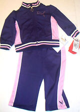 PUMA TRACKSUIT 12  MONTHS PURPLE  2PC OUTFIT SET GIRLS PINK AUTHENTIC