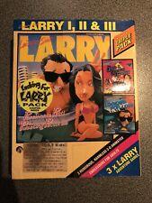 Leisure Suite Larry I,II & III Game Triple Pack