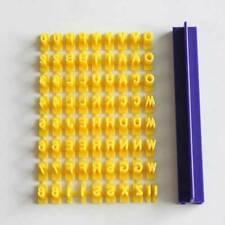 Alphabet Letter Number Biscuit Cookie Fondant Cutter Press Stamp Embosser Mould